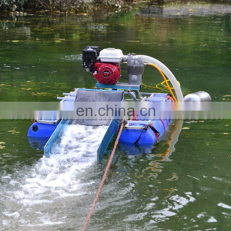 High quality cheap price gold dredge small gold mining equipment and river bed cleaning dredgefor sale