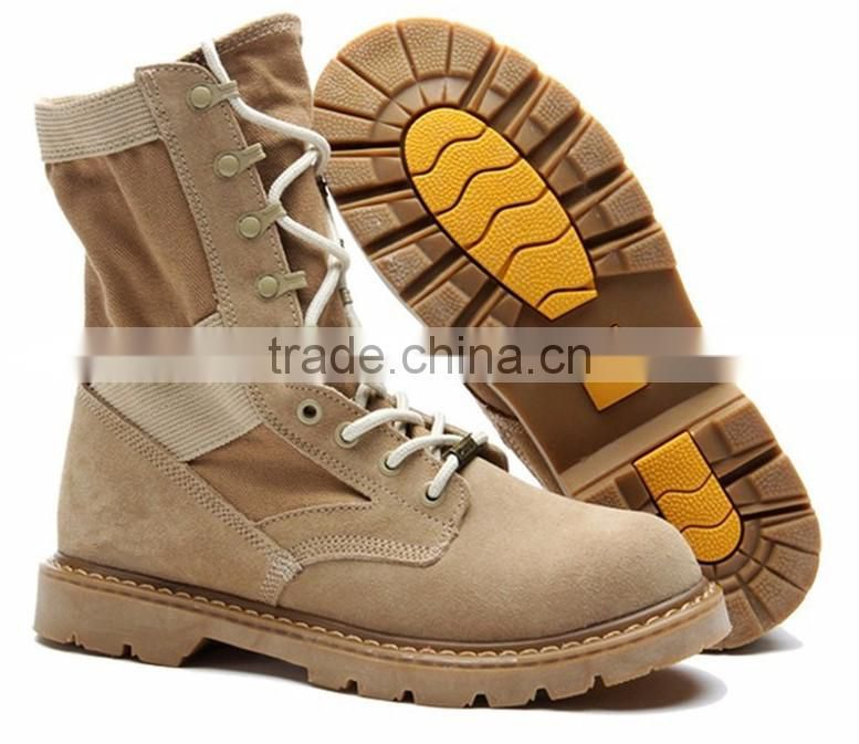 Fashion winter army boots Genuine Leather Tactical Men's working Combat Hunting Military Boots