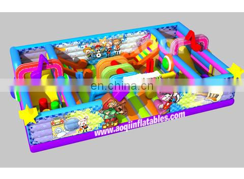 2015 new design music party inflatable fun city