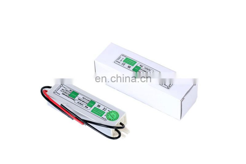 Compact Size 10W 12V Waterproof LED Power Supply 100% Full Load Burn In Test