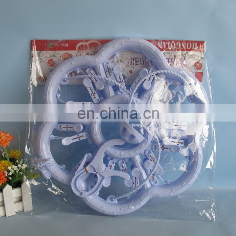 2014 hot sale folding cloth hanger 24 pcs