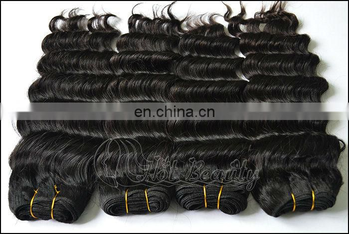 Guangzhou Hot Beauty Hair Company supply human hair extension grade b