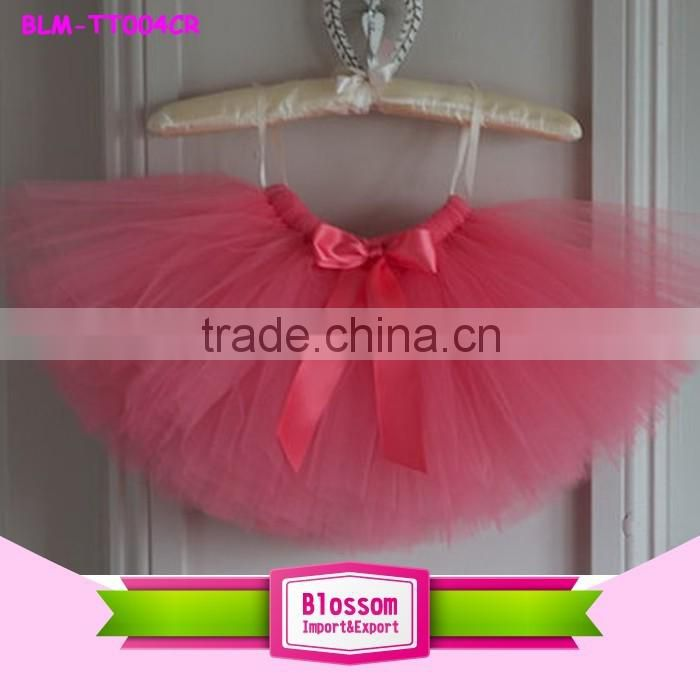 2016 fashion kids girls puffy tulle skirt Baby Girls Tutu skirt and Flower Headband Photo Props Outfit