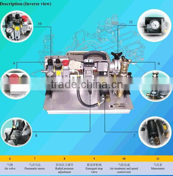Jetting machine Optical Fibre Blowing Cable Machine with cable feeder and power pack