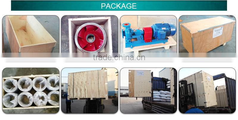 Centrifugal horizontal slurry pump