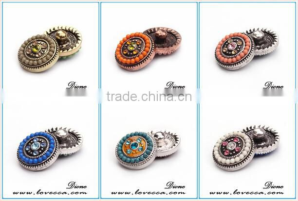 Hot selling custom metal snap button metal buttons for coats