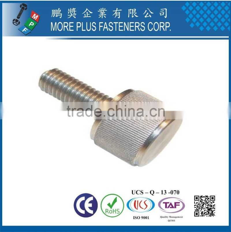 Knurled Head Over sized Head Right Hand Threads Thumb Screw