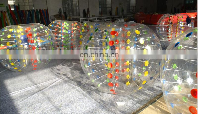 Customized bumper bubble ball for sale
