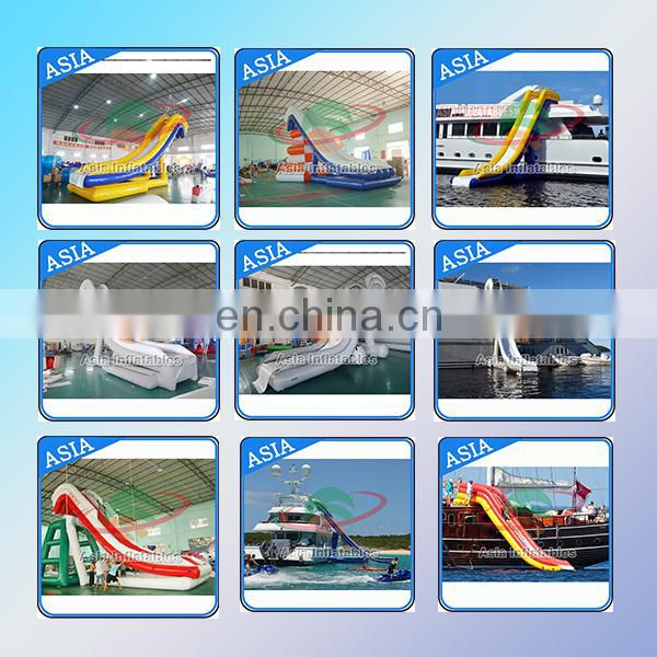 hot sell inflatable floating swimming pool with net, sea swimming pool for boat