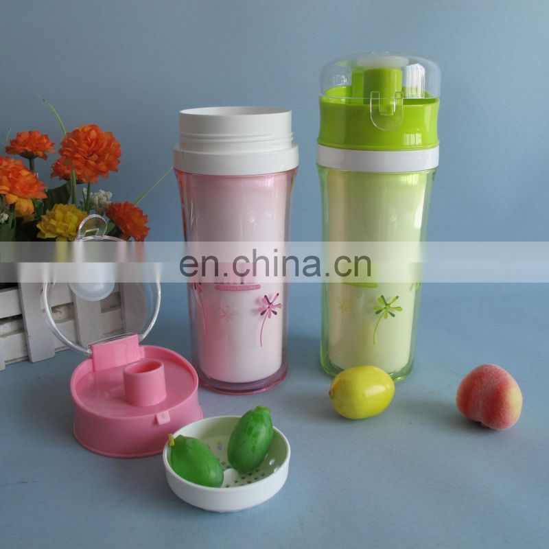 2014 new product plastic sport water cup 350ml