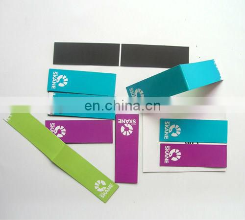 folding magnetic bookmarks for book