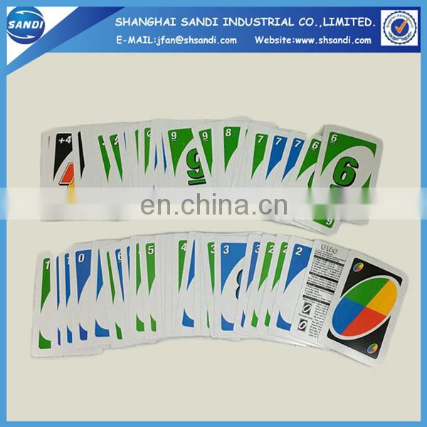 Promotional custom paper play card