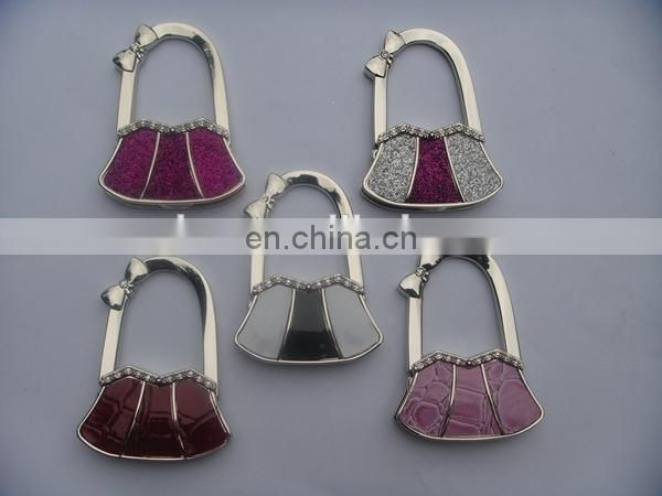 PROMOTIONAL GIFT HOT SELLING METAL BAG HANGER ACCESSORIES