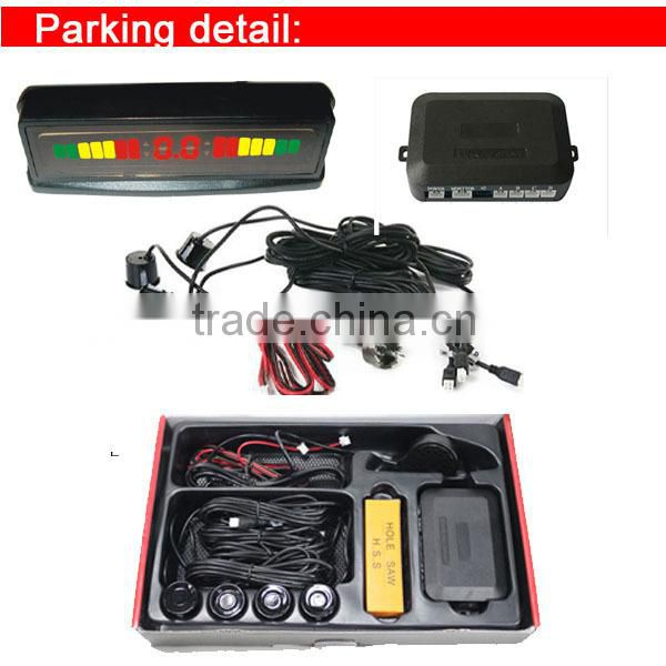 Factory best LED car parking sensor system with led display