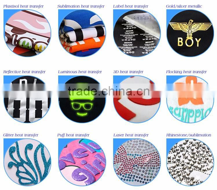 Top Quality Factory Direct Sale Cheap Garment Clothing Heat Transfer Sticker