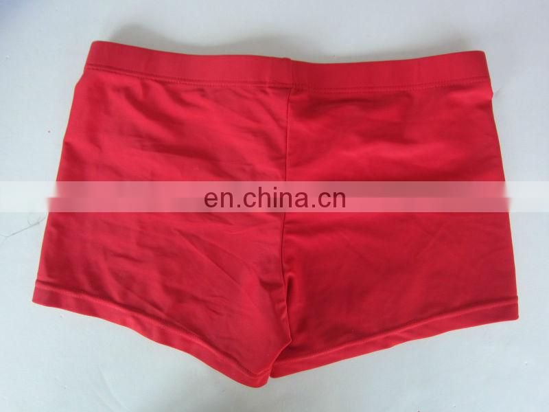Boy's Red Swimwear
