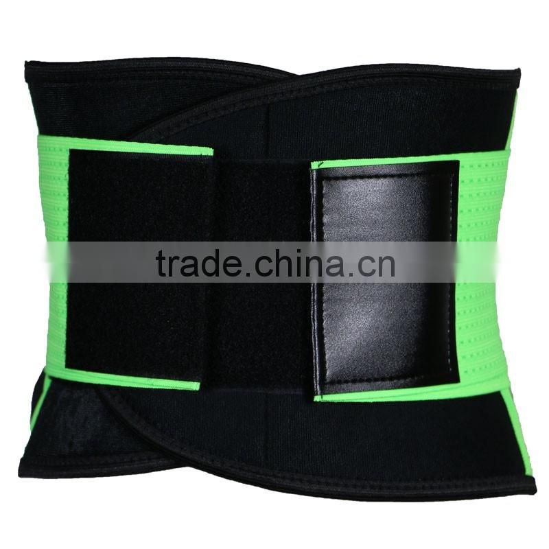 2016 Top Quality Sweat Collection adjustable support girdle belts wait support belly belts