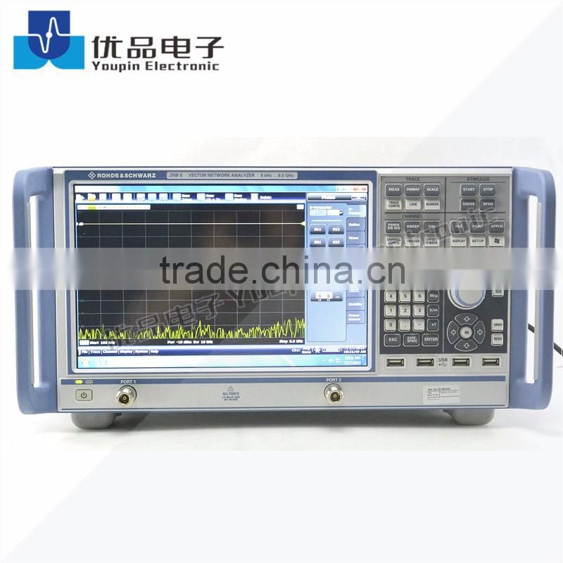 Rohde & Schwarz ZNB8 Vector Network Analyzer 2Port 9KHz-8.5GHz