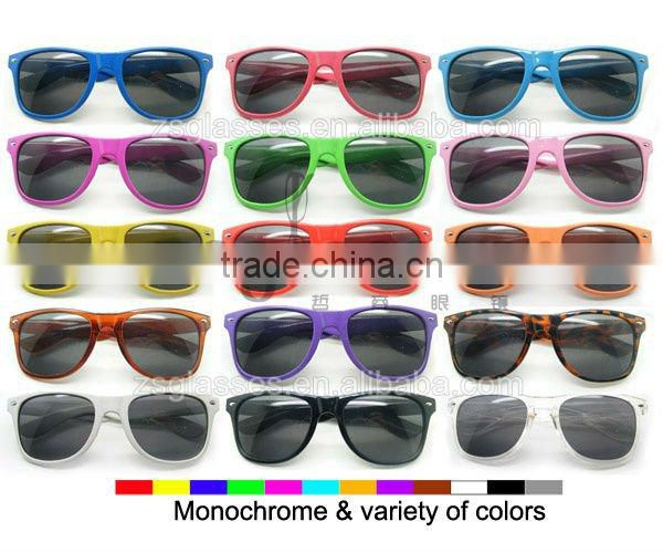 Cheap Promotiona spectacle frame/Sunglasses/eyewear Factory Custom Lens logo OEM
