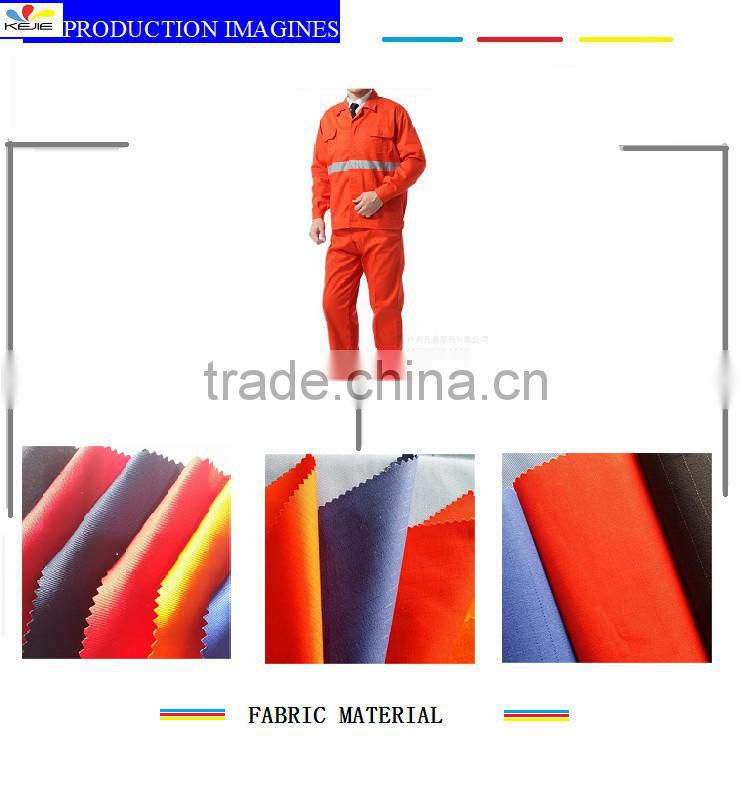 SGS cotton twill flame retardant anti-static protection material used for safety coverall