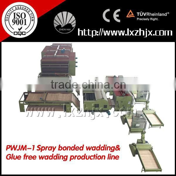 WJM series Thermal Bonding Oven Nonwoven Machine Line Nonwoven wadding production line