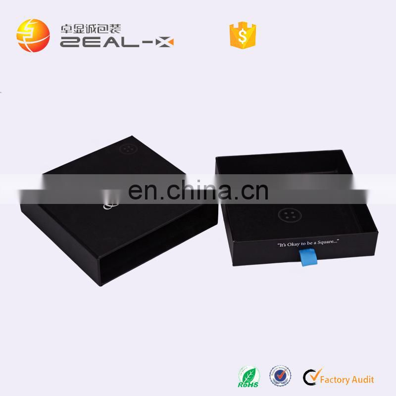 2016 So Nice Packaging Custom Logo Printed Any Size Custom Drawer Boxes with Logo