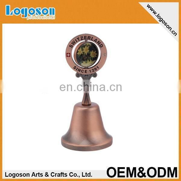 High quality custom special design tourist gift montenegro souvenir dinner bell