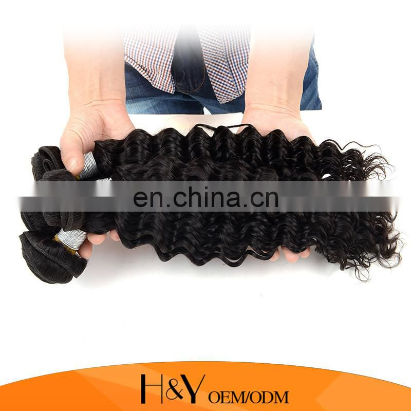 Indian Virgin Hair Deep Wave Human Hair Extension Top Selling Indian Hair Wholesale Online