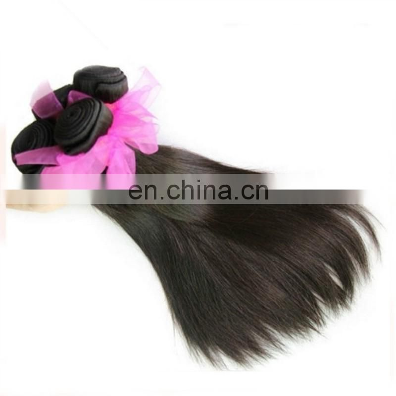 Alibaba wholesale double drawn human hair bundles remy virgin peruvian hair natural silky straight black color hair extensions