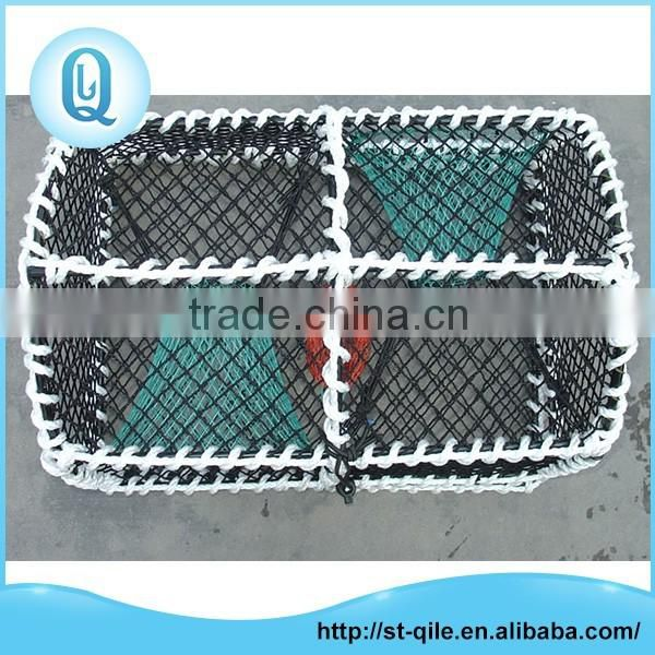 Top sale multifunction metal frame cheap aquaculture crab trap net