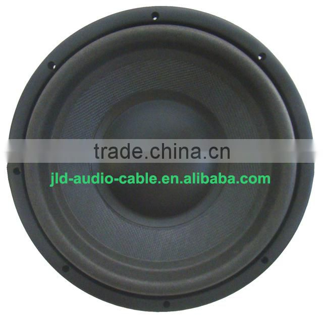 "Factory price 12"" car subwoofer high performance car subwoofer 2000W RMS 4000W MAX power car subwoofer SPL car subwoofer"