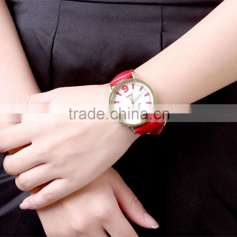 Online shopping leather strap watches luxury watch