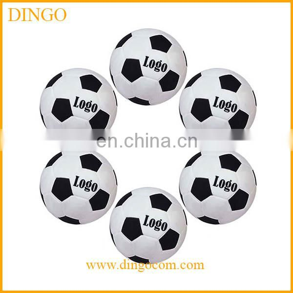 New design printed soccer bubble stress ball