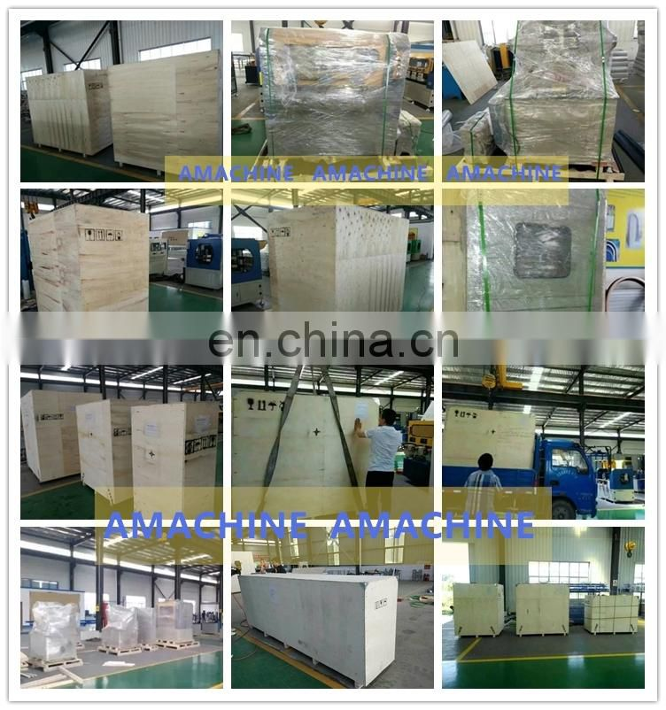 Automatic hot glue wrapping machine for aluminum profile