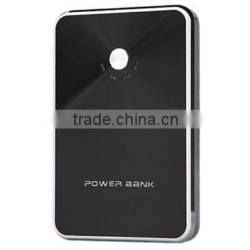 8000mAh Ultra thin Portable USB charger 8000mAh Metal Power Banks