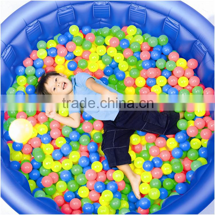 Soft multi-colored Vinyl Play Ball for Ball pit Crush-proof for Kids