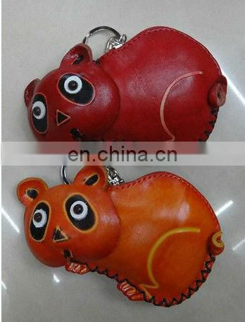 2013 Monkey High quality Genuine leather leather coin purse