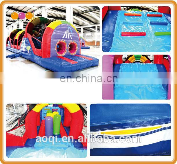 AOQI new design kids playing inflatable tunnel for sale