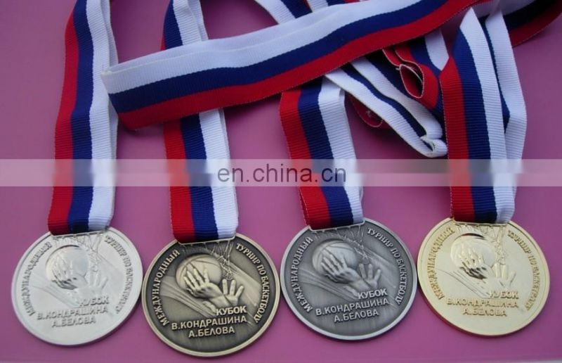 plating rose gold copper 21.1km marathon competition match prize medal