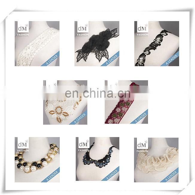 2015 Newest Style flower snowflake lace trim