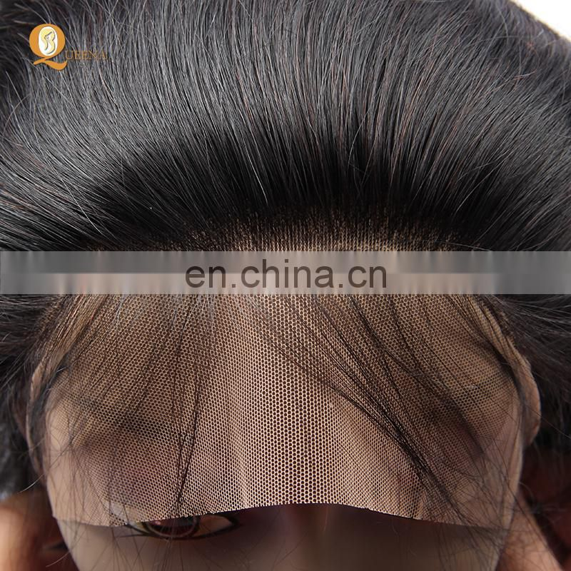 Brazilian Human Hair Pre Plucked Lace Frontal Wig With Remy Human Hair