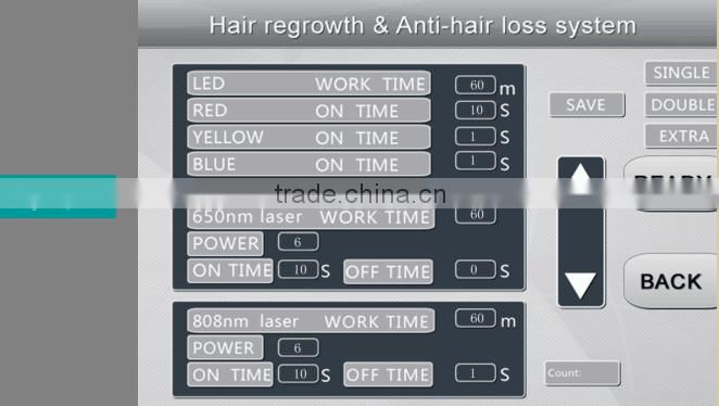 New Hair Growth Hair Loss Treatment Hair Regrowth Hair Growth Laser /Hair Growth Machine Supplier