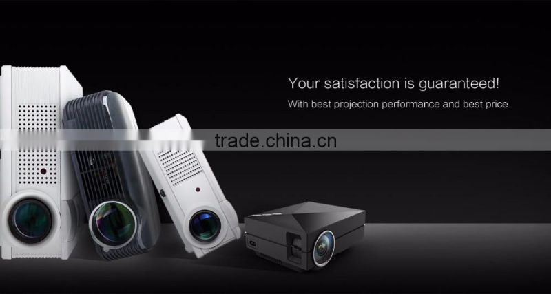 Most Popular Manufacture GM60A 1080P WIFI Mini Portable 1000 lumens LED LCD Home Theater Projector