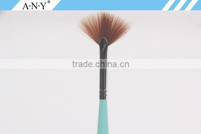 ANY Wood Handle Fan Brush/Nails Supply And Beauty