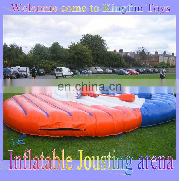 Red inflatable football kick out,inflatable soccer game for sale
