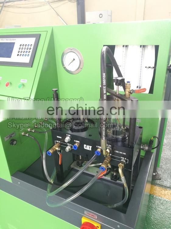 CAT3000L hydraulic pump test bench with glasstube