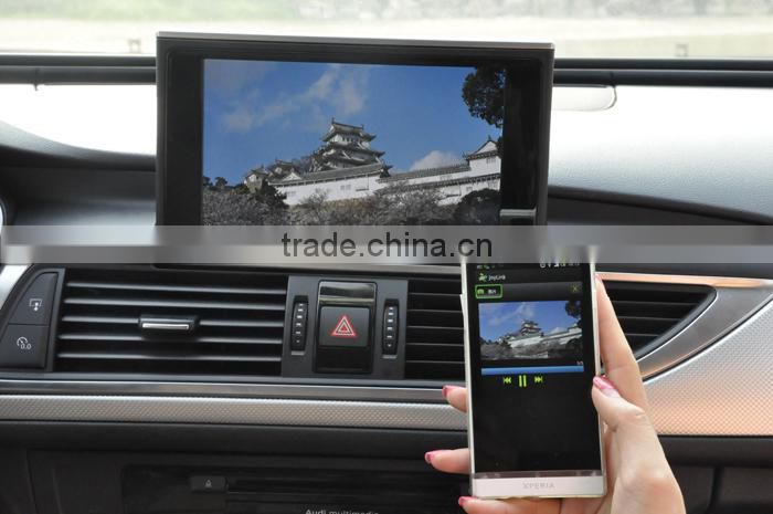 Car Mirror link wireless display audio video with external antenna supports 3G 4G internet