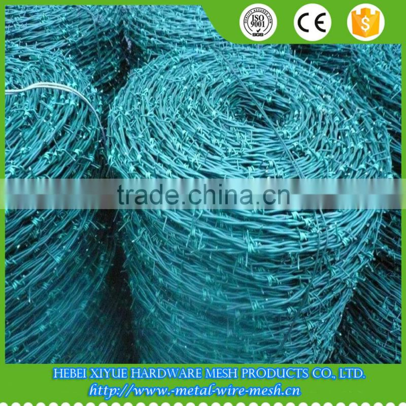 Anping xiyue hot-dip galvanized barbed wire 25kg price per roll of ...