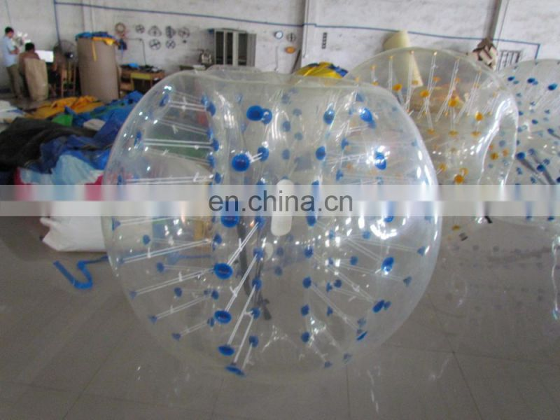 New style led light giant soccer inflatable bumper ball with high quality