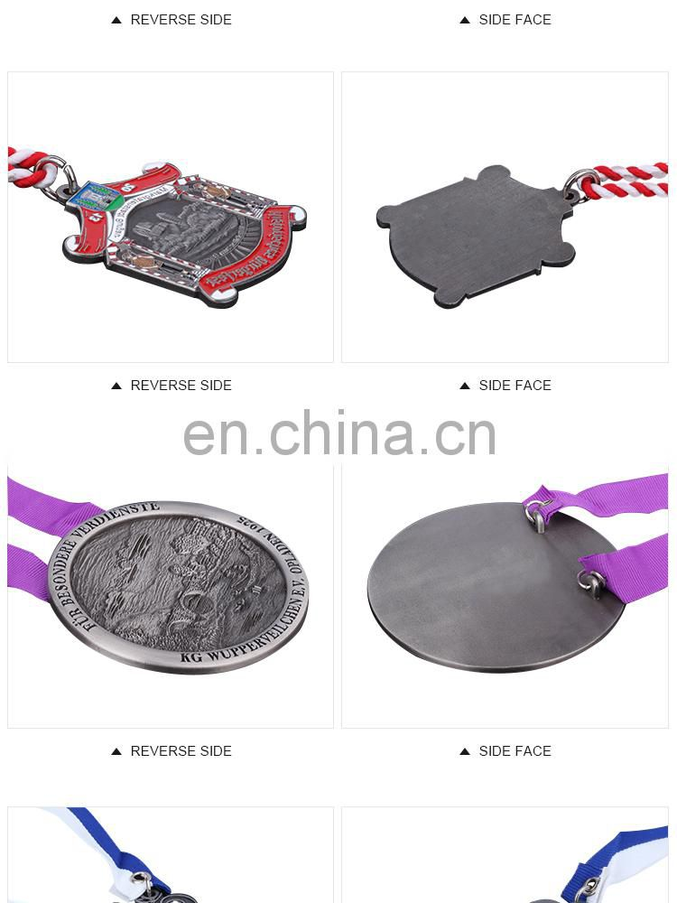 2016 New Hot Fashion Concord Souvenir metal Medals with ribbon bulks